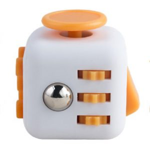 Magix™ Fidget Cube - White & Yellow