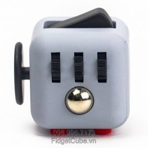 Magix™ Fidget Cube - Gray & Black, Red