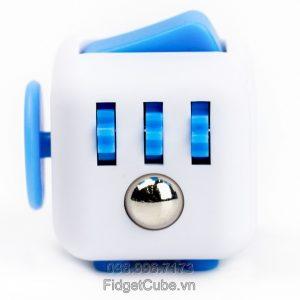 Magix™ Fidget Cube - White & Blue