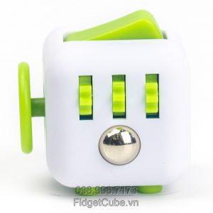 Magix™ Fidget Cube - White & Green