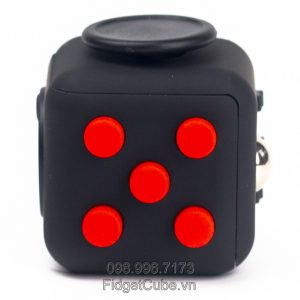 Magix™ Fidget Cube - Black & Red