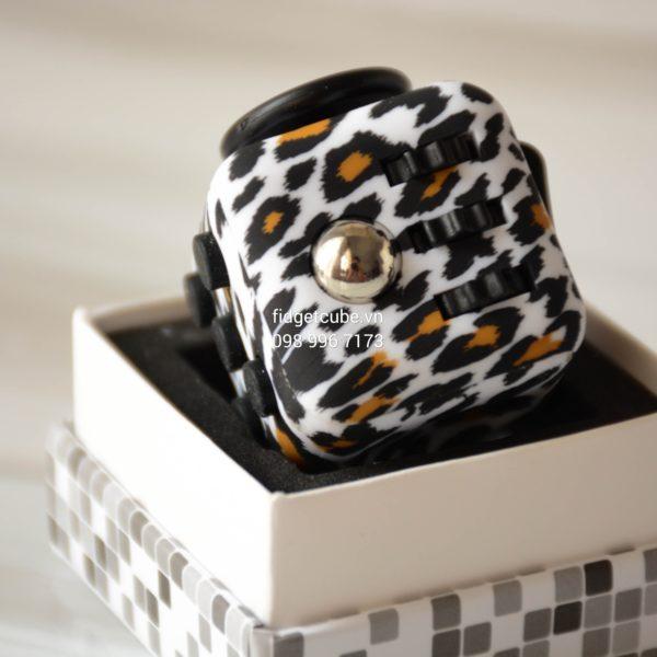 Magix™ Fidget Cube – Leopard Orange
