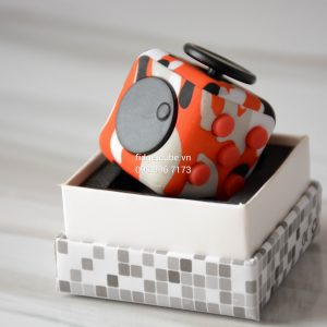 Magix™ Fidget Cube - Camo Orange