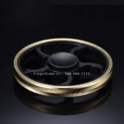 Wheel Spinner Vành Khắc – Black and Gold