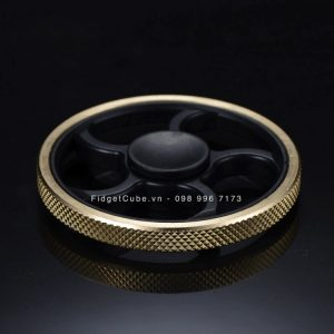 Wheel Spinner Vành Caro - Black and Gold