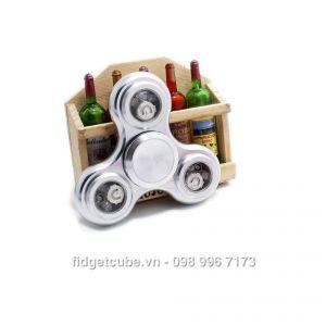 Blossom LED Spinner - Silver