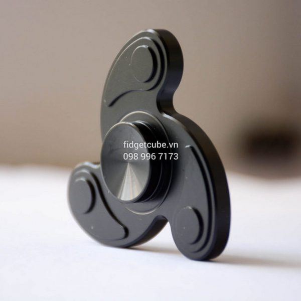 Boomerang Spinner Black H4