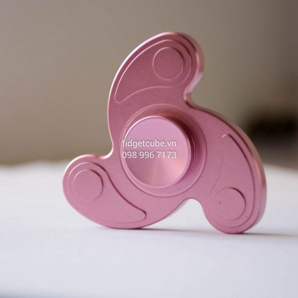 Boomerang Spinner Pink H3