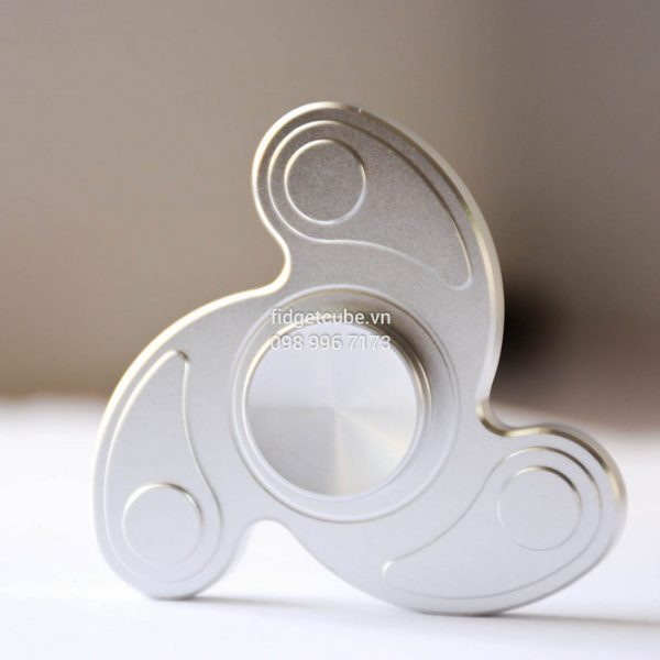 Boomerang Spinner Silver H1