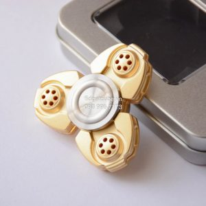 Spaceship Spinner Nhôm - Gold