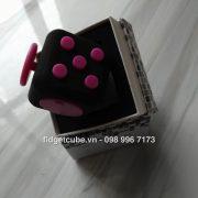 Magix™ Fidget Cube - Pink Black