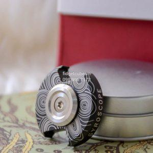 Gyroscope Spinner - Đen Nhám