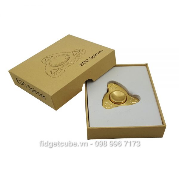 Mini Boomerang Spinner Full Brass4