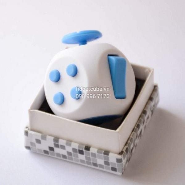 Fidget Cube AIR – White & Blue
