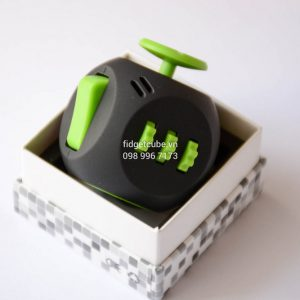Fidget Cube AIR - Black & Green
