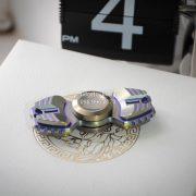 Armed Shark Spinner Titanium Brass (10)