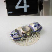 Armed Shark Spinner Titanium Brass (12)