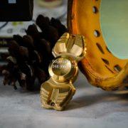 Armed Shark Spinner Titanium Brass (21)