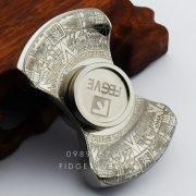 FEGVE Titanium MAYA Spinner Silver - 2 Cánh