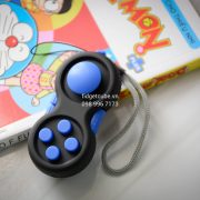 Fidget Pad - Black Blue
