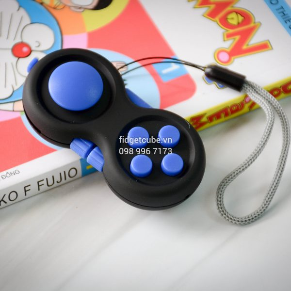 Fidget Pad Black Blue (5)