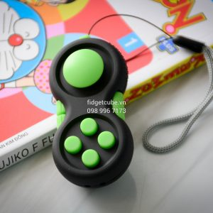 Fidget Pad - Black Green