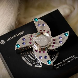 GEM Spinner - 4 Cánh Silver