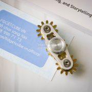 Gears Spinner 2 Gears Silver (1)