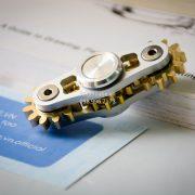Gears Spinner 2 Gears Silver (2)