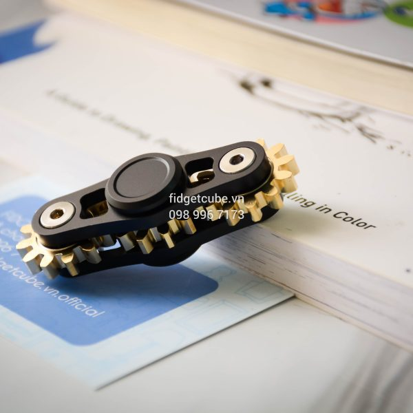 Gears Spinner 3 Gears Black (1)