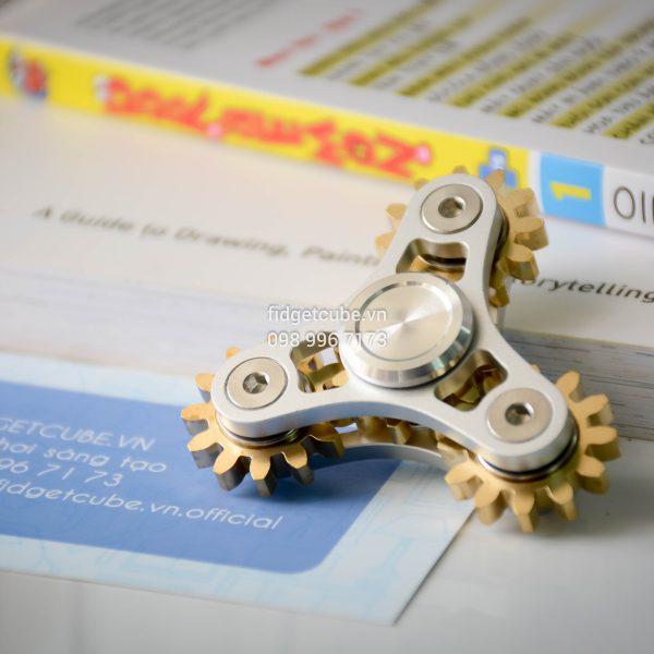 Gears Spinner 4 Gears Silver (1)