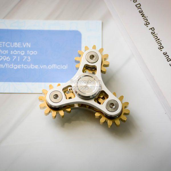 Gears Spinner 4 Gears Silver (2)