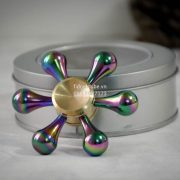 Molecule Spinner Brass Rainbow Chinh Hang (1)