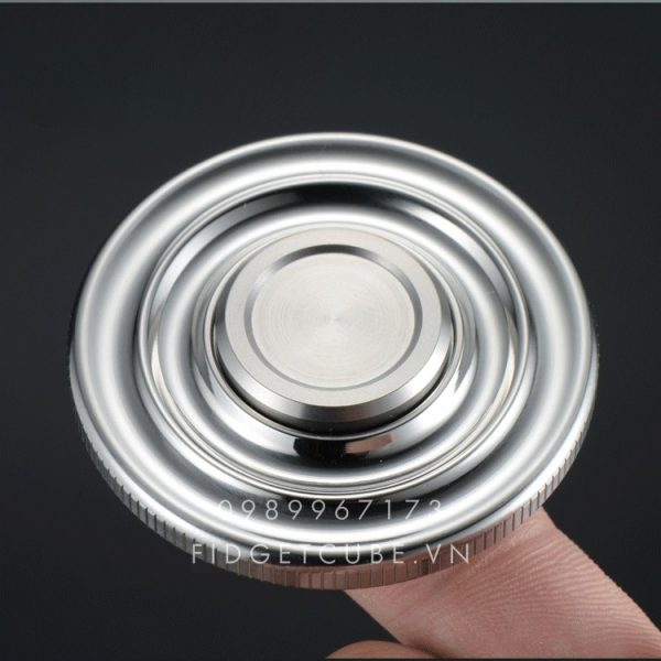 Round Spinner Stainless Steel (2)