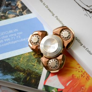 Spaceship Diamond Spinner - Champagne Gold