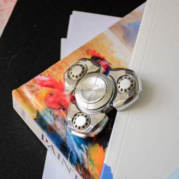 Spaceship Diamond Silver (2)