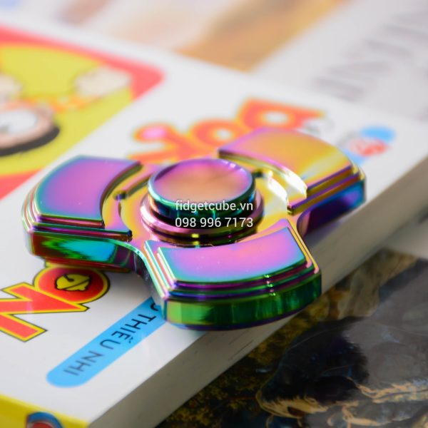 Totem Spinner Rainbow Tri-Color Brass (3)