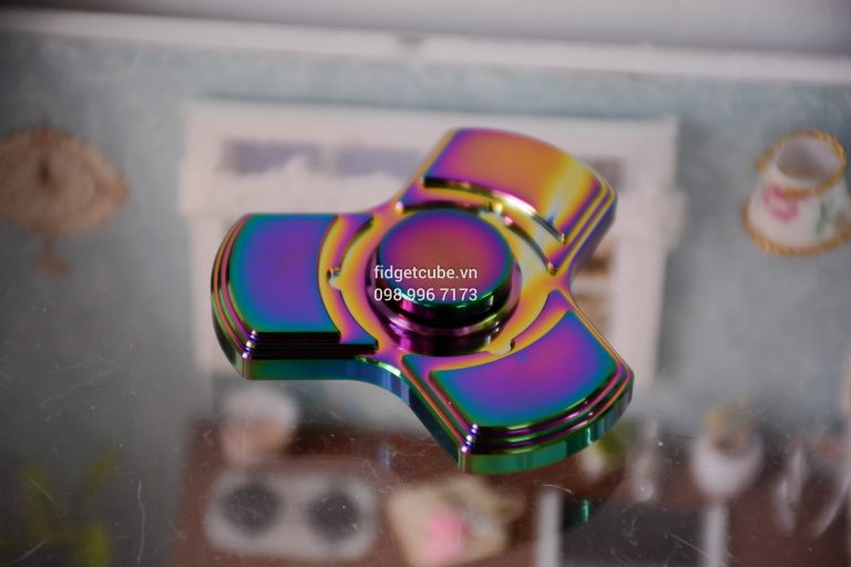 Totem Spinner Rainbow Tri-Color Brass (4)