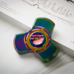 Totem Spinner Rainbow Tri-Color Brass