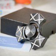 Trident Spinner Stainless Steel – Black