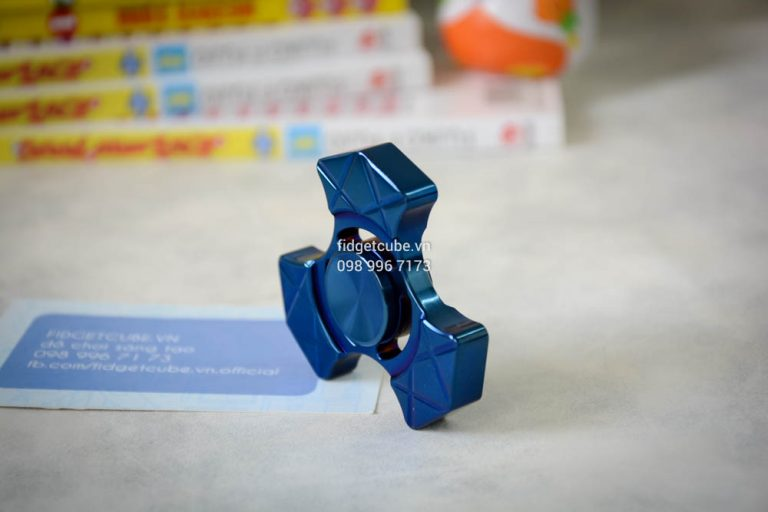 Trident Spinner Stainless Steel Blue (3)