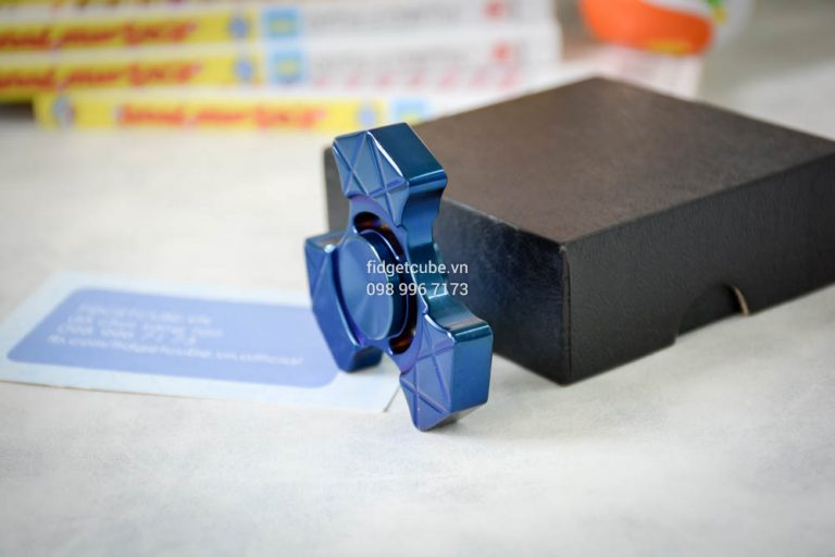Trident Spinner Stainless Steel Blue (5)