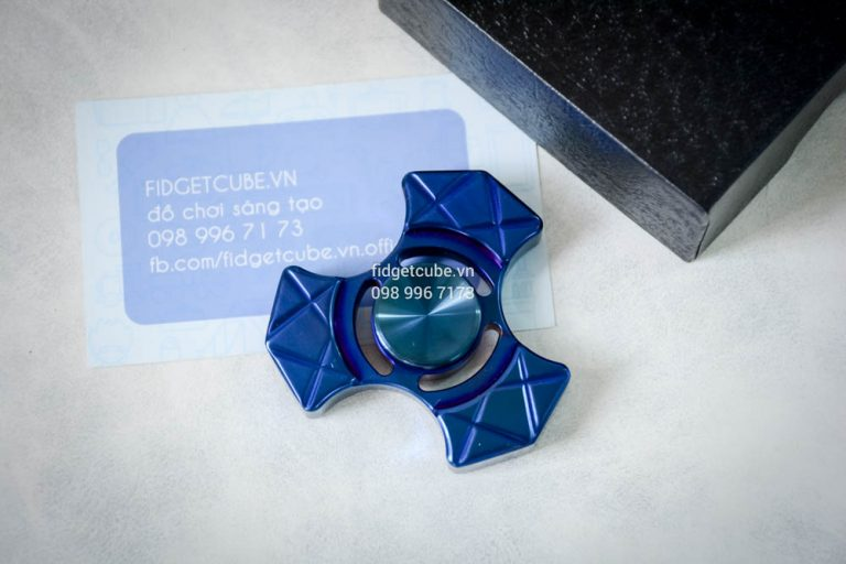 Trident Spinner Stainless Steel Blue (6)