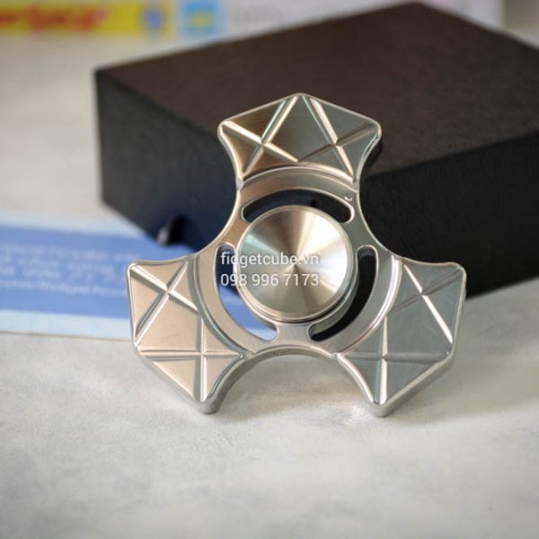 Trident Spinner Stainless Steel Silver (2)