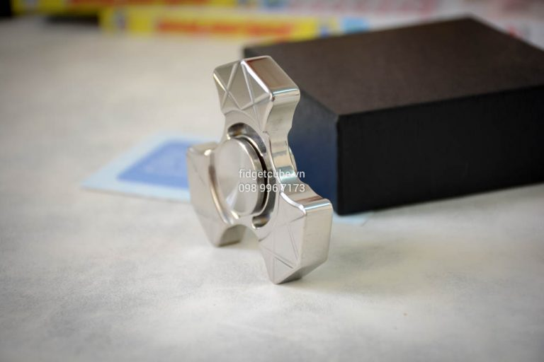 Trident Spinner Stainless Steel Silver (3)