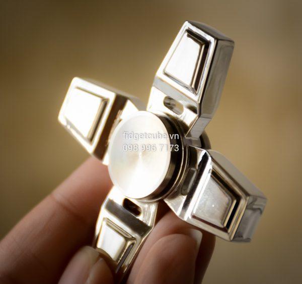 Windmill Spinner Silver (3)