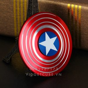 Captain America Fidget Spinner - Red