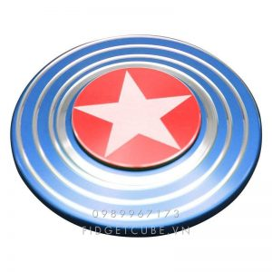 Captain America Fidget Spinner - Blue