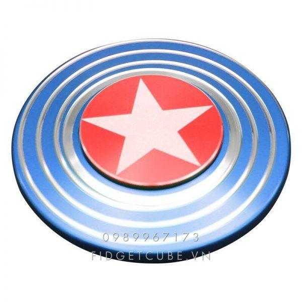 Captain America Fidget Spinner – Blue