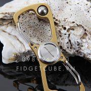 Carabiner Spinner Gold (1)